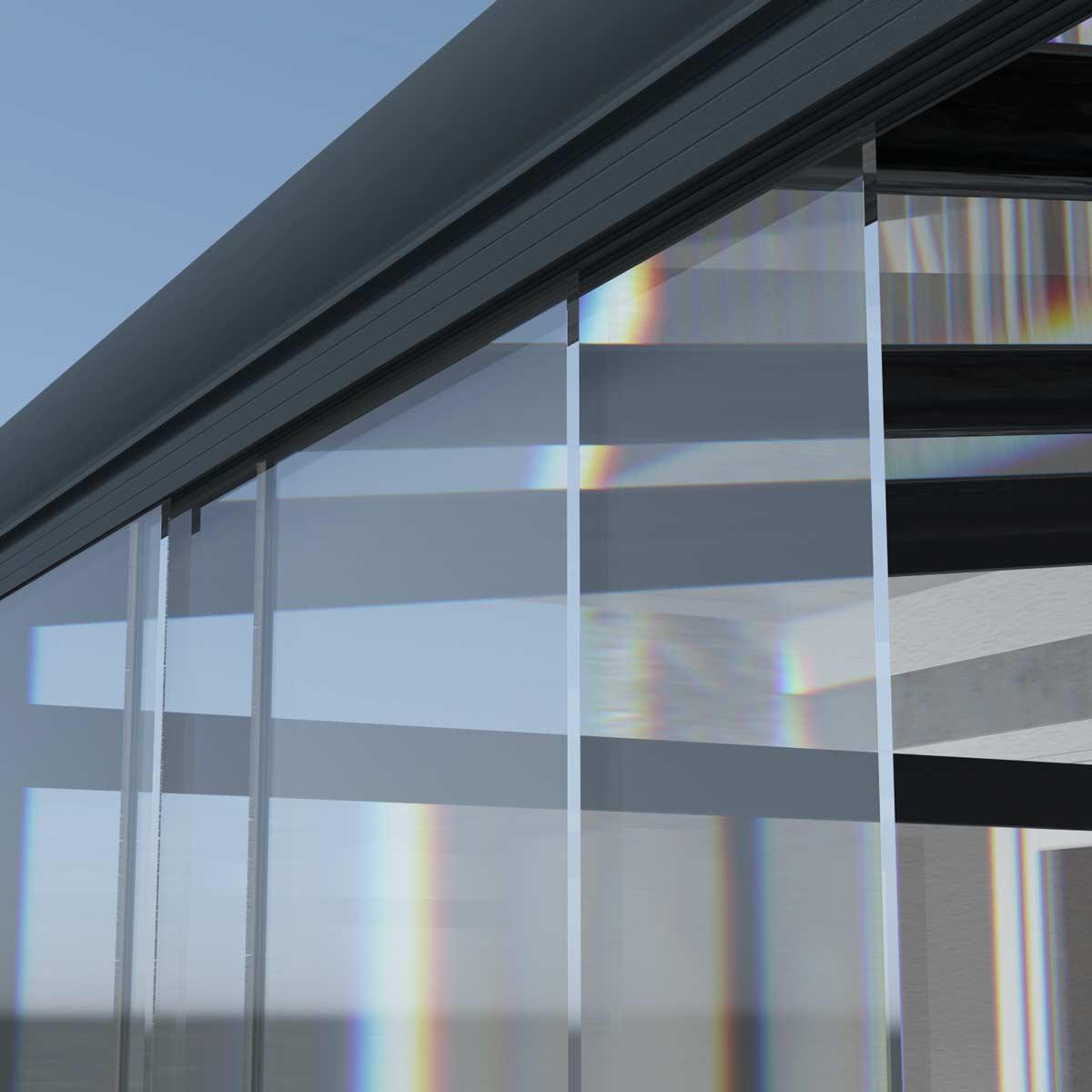 ML Glas Schiebe Elemente aus 20mm ESG   ML Terrassenüberdachungen